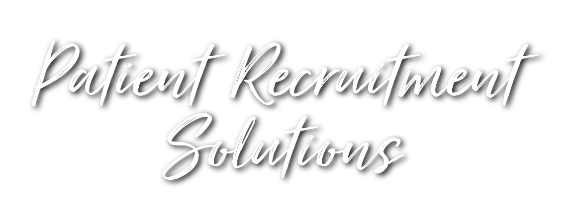 Patient Recruitment Solutions
